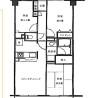 3LDK Apartment to Buy in Adachi-ku Floorplan
