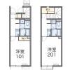 1K Apartment to Rent in Fukuoka-shi Nishi-ku Floorplan