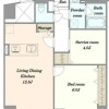 1SLDK Apartment to Buy in Shinjuku-ku Floorplan