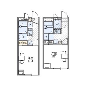1K Apartment in Chuohoncho(1.2-chome) - Adachi-ku Floorplan