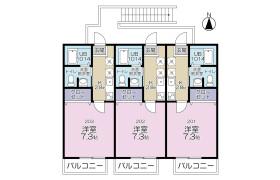 1K Apartment in Kamiyasumatsu - Tokorozawa-shi