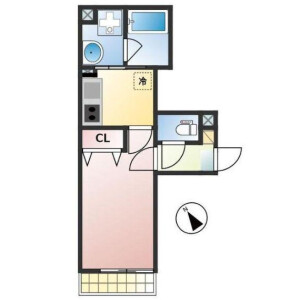 1K Mansion in Osaki - Shinagawa-ku Floorplan