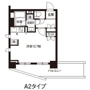 1R Mansion in Yushima - Bunkyo-ku Floorplan
