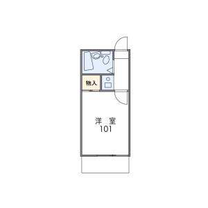 1K Mansion in Nakazato - Yokohama-shi Minami-ku Floorplan