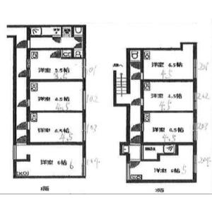 ★Hikari House - Guest House in Nakano-ku Floorplan