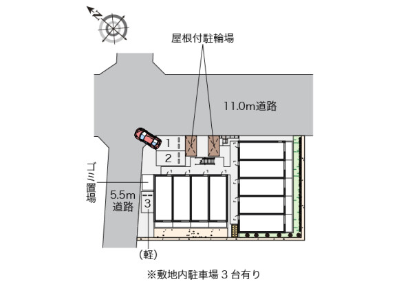 1K Apartment to Rent in Saitama-shi Minami-ku Floorplan