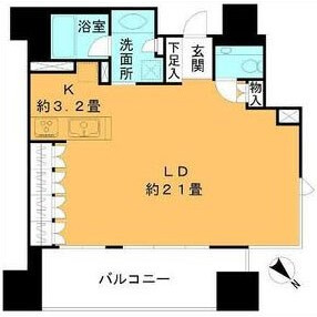 1R {building type} in Ebisu - Shibuya-ku Floorplan