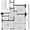 3DK Apartment to Rent in Kakegawa-shi Floorplan