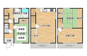 3LDK {building type} in Nakashima - Osaka-shi Nishiyodogawa-ku
