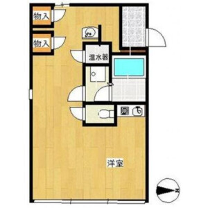 1R Apartment in Minamimotomachi - Shinjuku-ku Floorplan