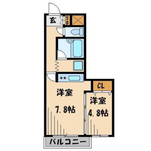 1DK Mansion in Toshima - Kita-ku Floorplan