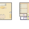 2LDK House to Rent in Shibuya-ku Floorplan