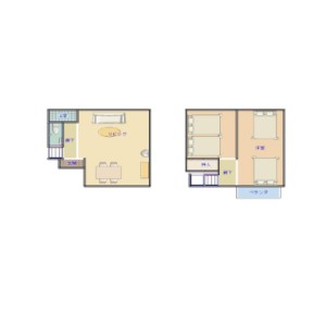 2LDK House in Hommachi - Shibuya-ku Floorplan
