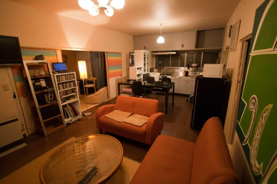 4LDK House to Rent in Komae-shi Living Room