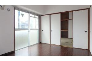 在大阪市北区内租赁2DK 公寓大厦 的 起居室