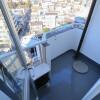 1K Apartment to Rent in Yokohama-shi Kanagawa-ku Balcony / Veranda