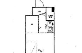 1R Apartment in Ohashi - Fukuoka-shi Minami-ku