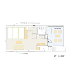 1R Apartment in Tabata - Kita-ku Floorplan