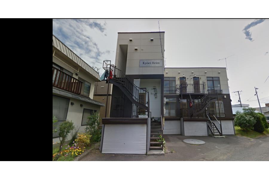 在札幌市东区购买整栋 公寓的 户外