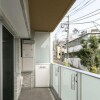 1R Apartment to Rent in Meguro-ku Balcony / Veranda