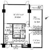 在澀谷區內租賃2LDK 公寓 的房產 房間格局