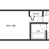 1K Apartment to Rent in Suita-shi Floorplan