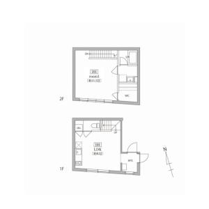 1LDK Mansion in Todoroki - Setagaya-ku Floorplan