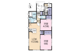 2LDK Apartment in Matsunami - Chiba-shi Chuo-ku