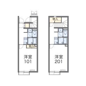 名古屋市昭和區神村町-1K公寓 房間格局