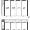1K Apartment to Rent in Higashiosaka-shi Layout Drawing