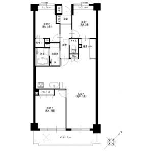 3LDK {building type} in Fujisawa - Fujisawa-shi Floorplan
