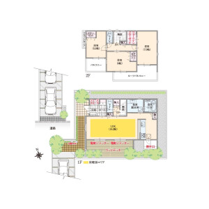 3LDK House in Kitami - Setagaya-ku Floorplan