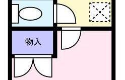 1K Mansion in Sakusabe - Chiba-shi Inage-ku