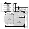 2K Apartment to Rent in Nasushiobara-shi Floorplan