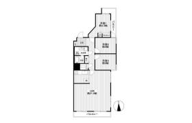 3LDK Apartment in Tsunashimahigashi - Yokohama-shi Kohoku-ku