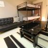 2K Apartment to Rent in Shinjuku-ku Living Room