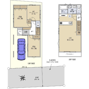 2SLDK {building type} in Koyama - Nerima-ku Floorplan