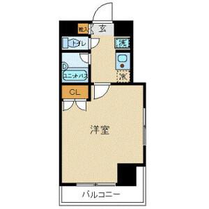 1K Mansion in Izumi - Suginami-ku Floorplan