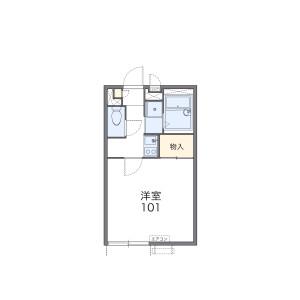 1K Apartment in Toyoshiki - Kashiwa-shi Floorplan