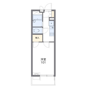1K Mansion in Ebisuhommachi - Osaka-shi Naniwa-ku Floorplan