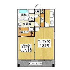 1LDK Mansion in Saiwaicho - Osaka-shi Naniwa-ku Floorplan