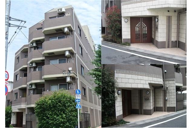 1K Apartment to Rent in Meguro-ku Exterior