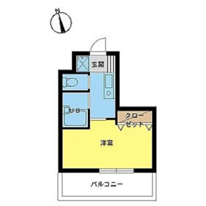 1K Mansion in Mejiro - Toshima-ku Floorplan