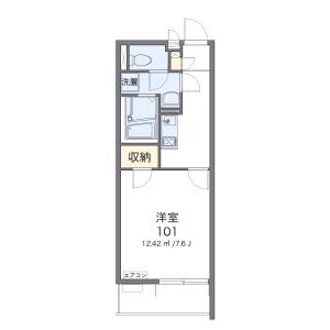 1K Mansion in Toyotamaminami - Nerima-ku Floorplan
