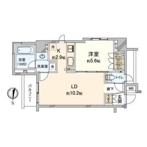 1LDK Mansion in Daimachi - Yokohama-shi Kanagawa-ku Floorplan
