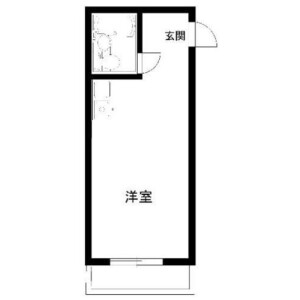 1R Mansion in Kamiuma - Setagaya-ku Floorplan