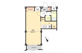 1DK Apartment in Hamacho - Kawasaki-shi Kawasaki-ku