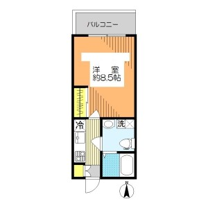 1K Mansion in Taihei - Sumida-ku Floorplan