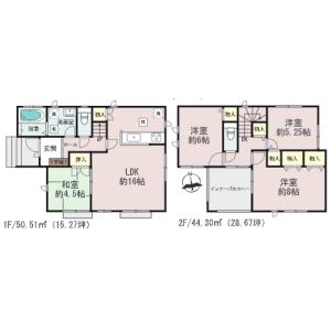 4LDK {building type} in Gima - Nakagami-gun Yomitan-son Floorplan