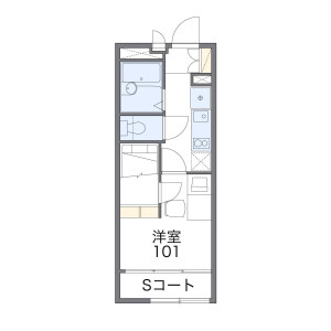 1K Apartment in Oizumimachi - Nerima-ku Floorplan